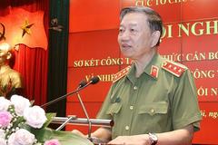 Bộ trưởng Tô Lâm 'đặt hàng' Cục Tổ chức cán bộ