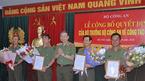 4 Thiếu tướng công an nhận quyết định nghỉ hưu