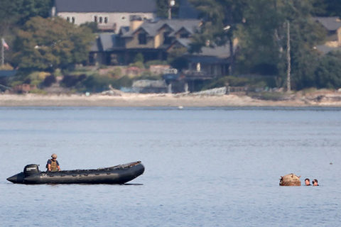 thủy lôi bí ẩn xuất hiện ngoài khơi Washington