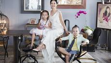 Sau ly hôn, Hồng Nhung và hai con chuyển tới sống trong căn chung cư cao cấp