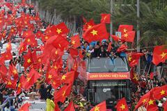 Chuyên cơ riêng đón U23 Việt Nam về nước, mừng công ở Mỹ Đình