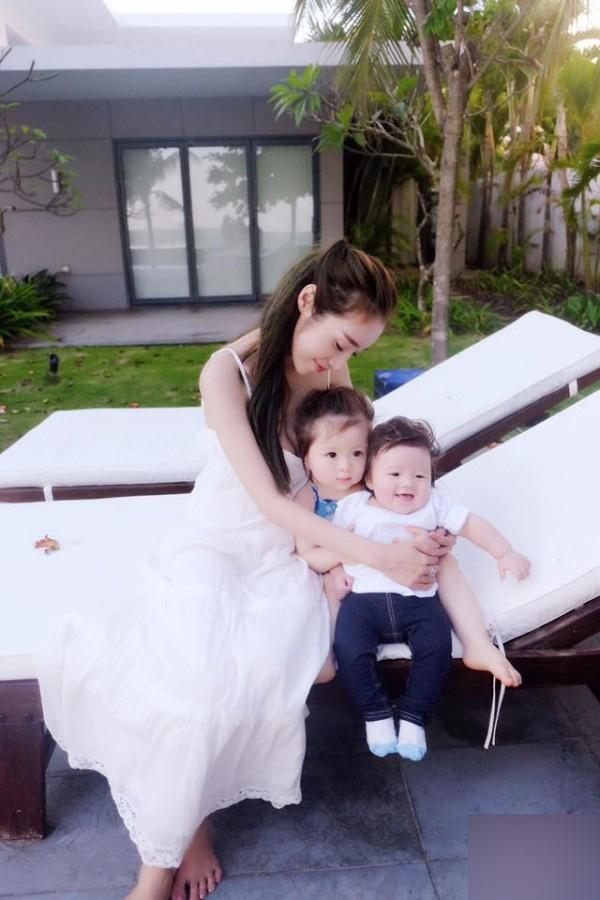 Elly Trần và các con