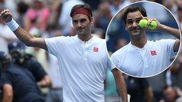 Federer thẳng tiến vòng 3 US Open 2018