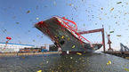 Trung Quốc thử thành công tàu sân bay tự chế