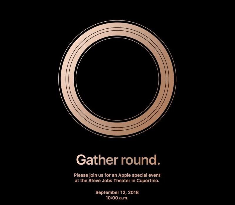 Apple gửi thư mời sự kiện ra mắt iPhone mới