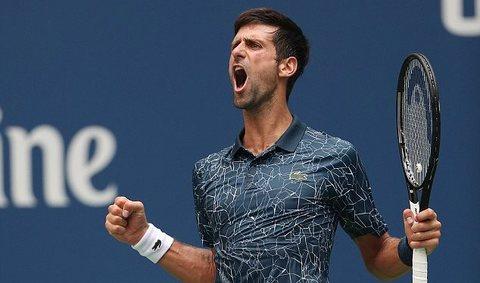 Novak Djokovic 3-1 Tennys Sandgren