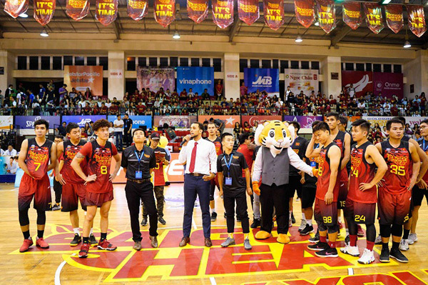 Dấu ấn Saigon Heat ở giải VBA 2018