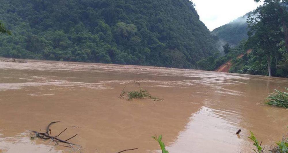 xả lũ,thủy điện xả lũ,Nghệ An,mưa lũ,lũ lụt