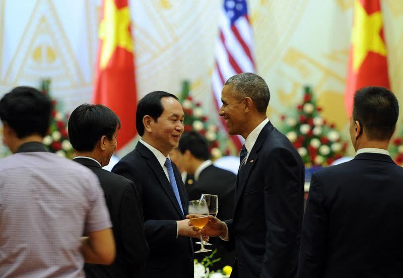 Quốc yến,tiệc chiêu đãi nguyên thủ,APEC,Tiệc chiêu đãi của Chủ tịch Nước