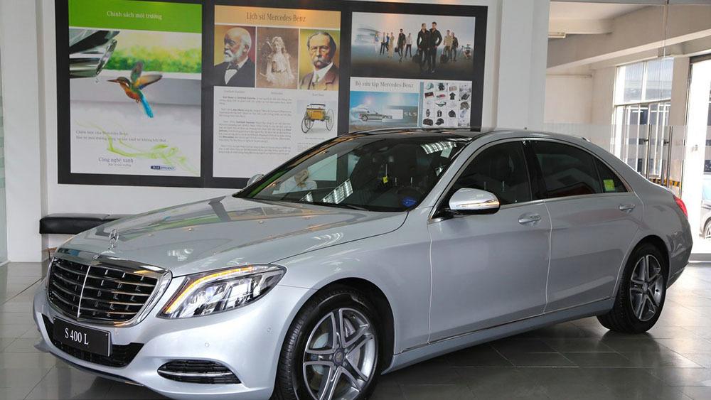 Rao bán xe sang Mercedes S400L của Trấn Thành