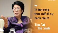 Thất bại duy nhất trong đời nhà ngoại giao Tôn Nữ Thị Ninh