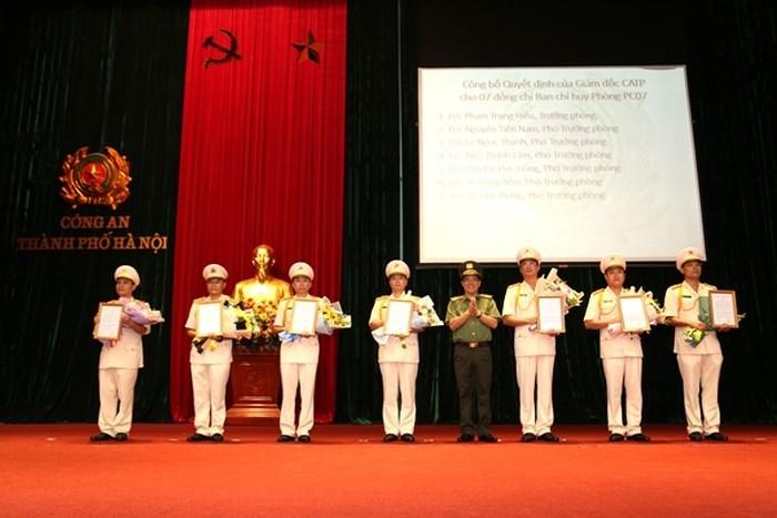 Thiếu tướng Hoàng Quốc Định làm Phó GĐ Công an Hà Nội