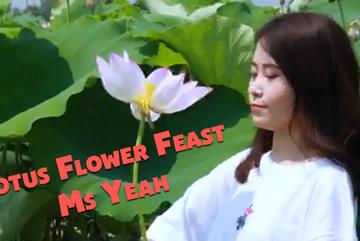 'Thèm thuồng' khi nhìn thánh ăn công sở chế biến món ngon từ hoa sen