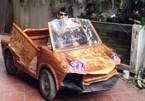 Ô tô Lamborghini, BMW bằng gỗ độc nhất Việt Nam