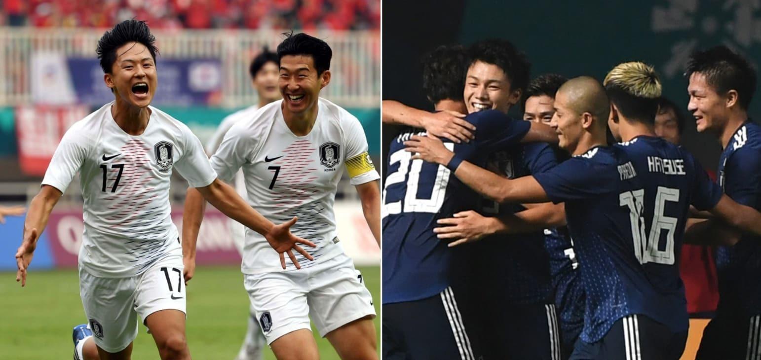 U23 Hàn Quốc,U23 Nhật Bản,U23 Hàn Quốc vs U23 Nhật Bản,asiad 2018,kèo bóng đá,nhận định bóng đá