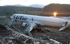Máy bay Nga cháy rừng rực, 170 người thoát chết kỳ diệu