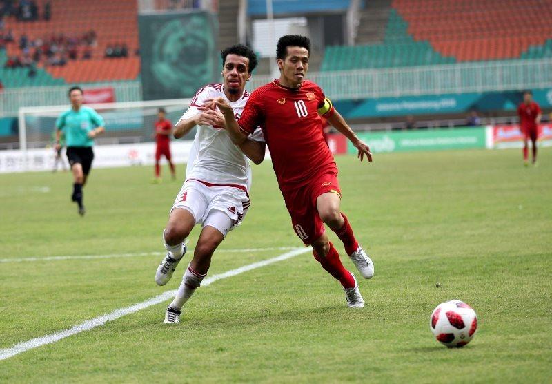 U23 Việt Nam,HLV Park Hang Seo,U23 UAE