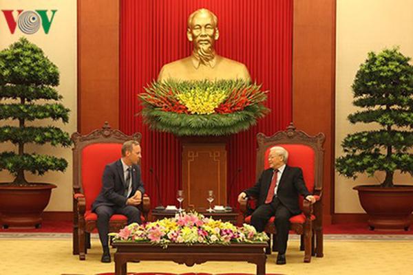 Việt Nam - Anh đẩy mạnh quan hệ hợp tác song phương