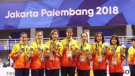 Asiad ngày 1/9: Cầu mây nữ khóa sổ huy chương cho Việt Nam