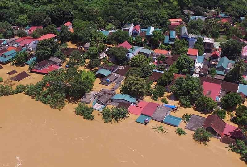 Dự báo thời tiết 2/9: Lũ đổ, Thanh Hóa - Nghệ An còn lụt