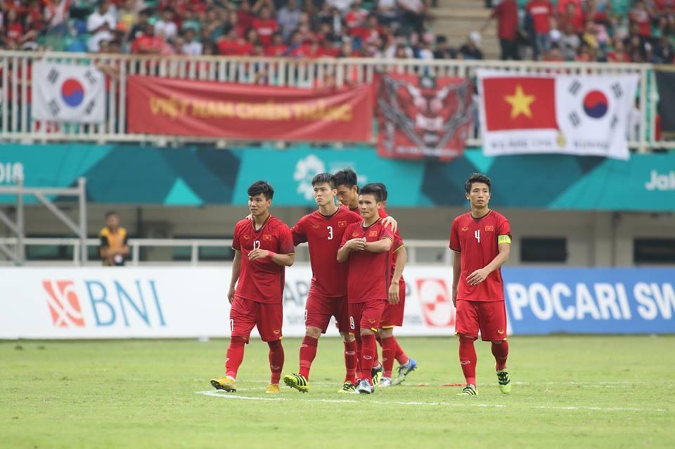 U23 Việt Nam,HLV Park Hang Seo,Kết quả bóng đá Asiad 2018