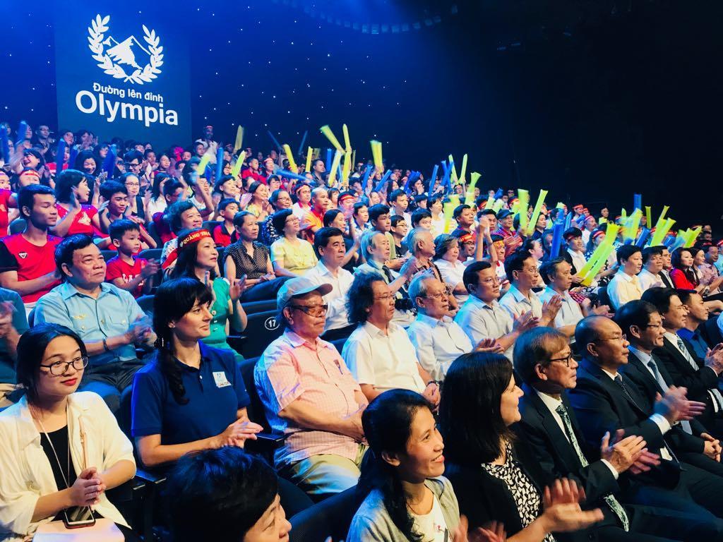 Hoàng Cường vô địch Đường lên đỉnh Olympia 2018