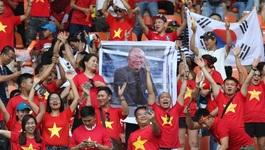 Báo Hàn Quốc trầm trồ fan Việt dù U23 Việt Nam thua