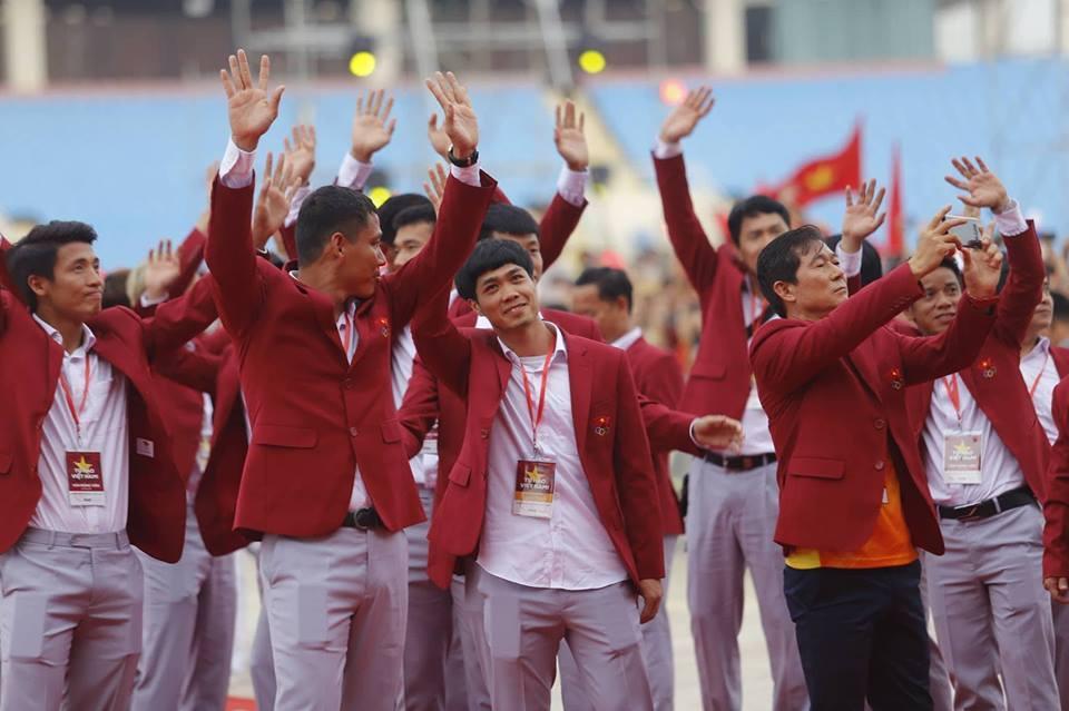 U23 Việt Nam,đoàn TTVN,VĐV Việt Nam,HLV Park Hang Seo