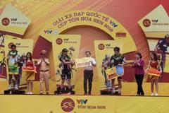 Giải xe đạp VTV Cup Tôn Hoa Sen 2018: David Van Eerd tạm giữ Áo vàng