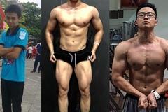Bị bạn gái chê 'gầy quá', chàng trai quyết tâm lột xác tăng 20kg