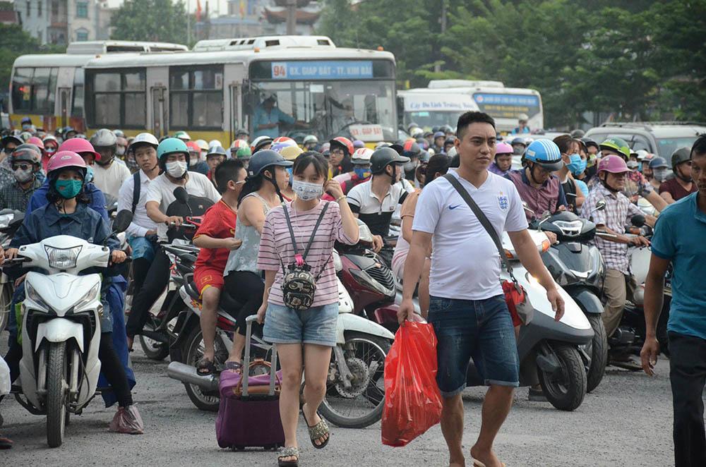 ùn tắc,tắc đường,nghỉ lễ,quốc khánh,Hà Nội