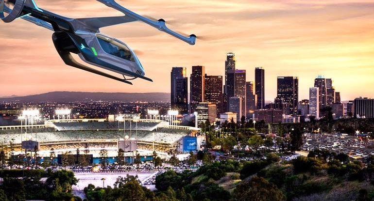 Uber đang tìm kiếm thành phố thứ ba thử nghiệm taxi bay