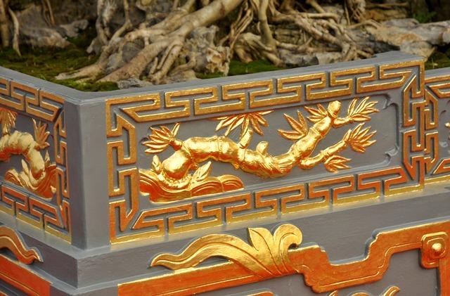 Tận mắt thấy cây sanh cổ trong chậu dát 5 cây vàng giá chục tỷ