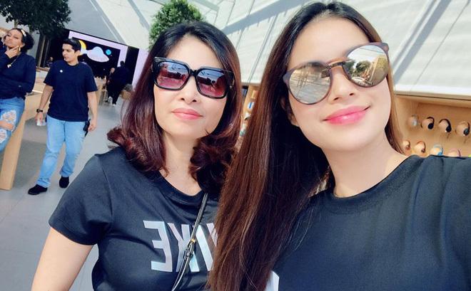 Hoa hậu Phạm Hương sang Mỹ chữa bệnh tuyến giáp