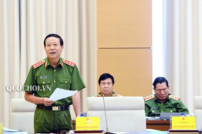 Thứ trưởng Bộ Công an,Lê Quý Vương,tham nhũng,lợi ích nhóm