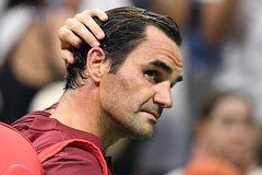 """Federer bị tay vợt hạng 55 thế giới """"đá bay"""" khỏi US Open"""