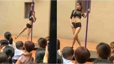 Trường tổ chức múa cột mừng khai giảng, phụ huynh sốc