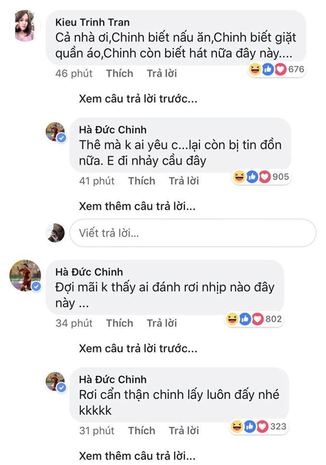 Phản ứng của Hà Đức Chinh sau tin đồn có bạn gái