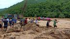 Hai thi thể phân hủy trôi trên sông sau lũ lớn ở Thanh Hóa