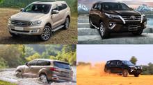 Ford Everest 2018 'đấu' Toyota Fortuner: Mẫu SUV nào đáng để xuống tiền?