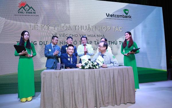 Vietcombank Tân Định ưu đãi khách vay mua nhà Đông Tăng Long