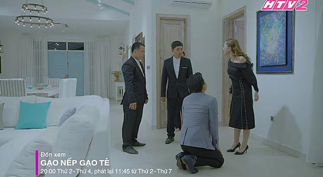 'Gạo nếp gạo tẻ': Chồng Lê Phương bị bồ đá, lột quần áo đuổi ra đường