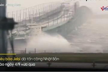 Những hình ảnh như 'ngày tận thế' ở Nhật trong siêu bão