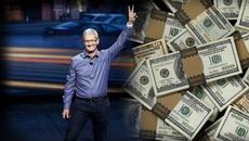 Giá trị Apple tăng không ngừng, đã vượt ngưỡng 1,1 ngàn tỷ USD