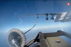 Xem máy bay Nga rầm rập luyện chiến đấu ngoài khơi Syria