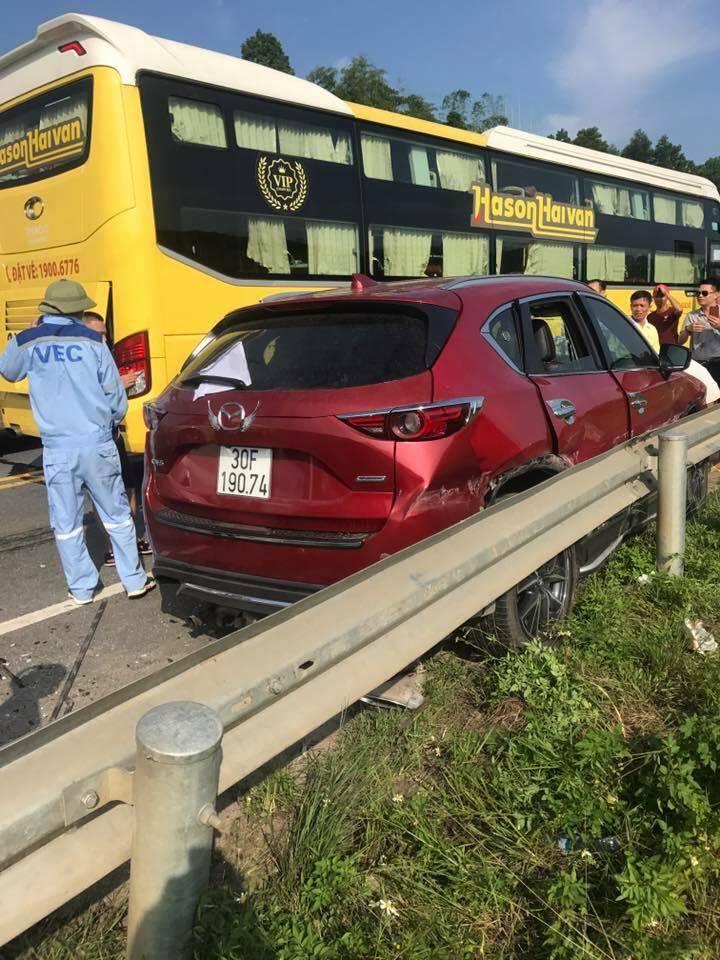 tai nạn,tai nạn giao thông,cao tốc Hà Nội - Lào Cai