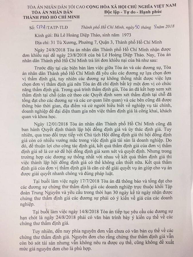 Hoãn xử, ly hôn vợ chồng 'vua' cà phê Đặng Lê Nguyên Vũ bế tắc