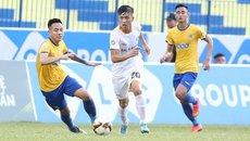 Sao U23 Việt Nam đá chính, SLNA thảm bại ở cúp quốc gia
