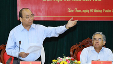 Thủ tướng: Kon Tum xử lý tốt vấn đề đất đai, không để xảy ra điểm nóng
