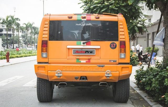 Hummer H2 màu cam độc nhất Việt Nam - Xe khủng cho dân chơi cá tính